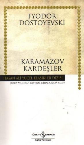 Karamazov Kardeşler K.Kapak