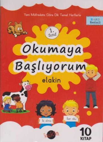Kukla 1. Sınıf Okumaya Başlıyorum-(Elakin) 10 Kitap