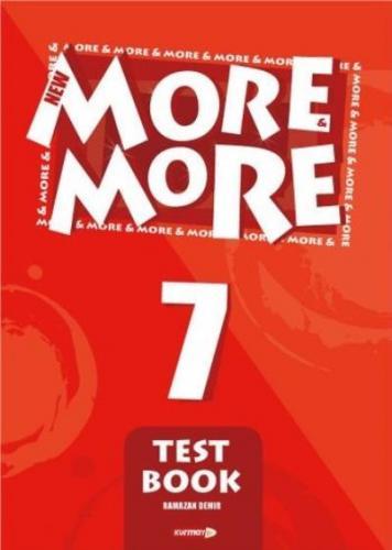 Kurmay More-More 7 English Test Book