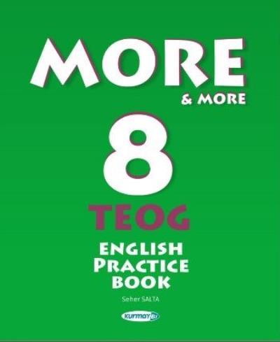 Kurmay More-More 8 TEOG English Practice Book