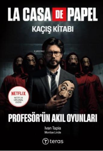 La Case De Papel Kaçış Kitabı - Profesör'ün Akıl Oyunları (Maske Hediy