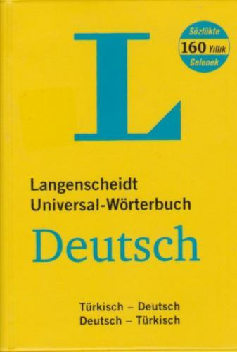 Langenscheidt Almanca-Türkçe Türkçe-Almanca Cep Sözlüğü