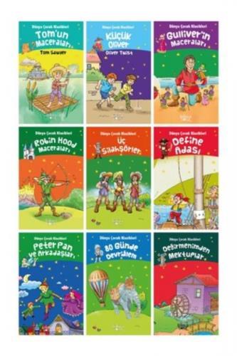Macera Kitapları Seti-9 Kitap Koloni Çocuk Kolektif