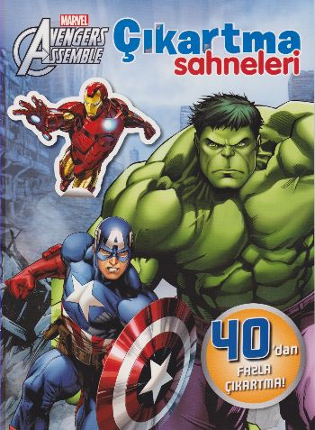 Marvel Avengers Assemble-Çıkartma Sahneleri