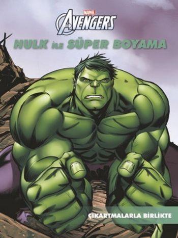 Marvel Avengers Hulk İle Süper Boyama - Çıkartmalarla Birlikte
