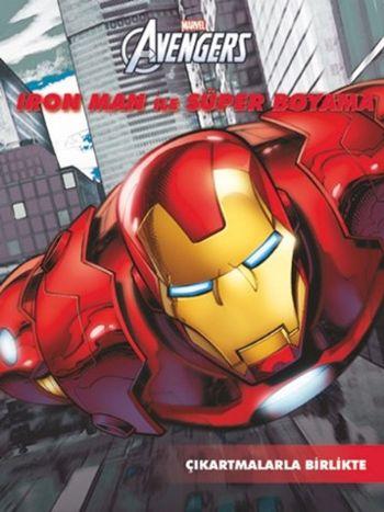 Marvel Avengers Iron Man ile Süper Boyama - Çıkartmalarla Birlikte