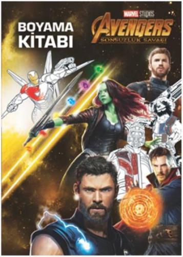 Marvel Avengers Sonsuzluk Savaşı-Boyama Kitabı