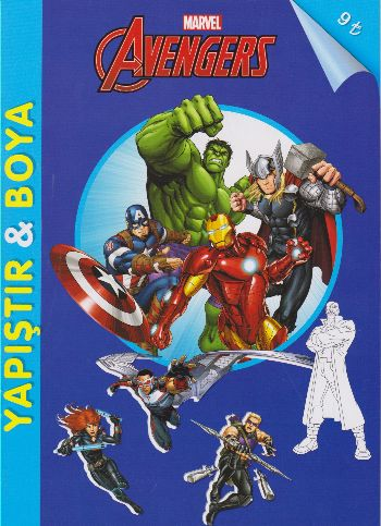 Marvel Avengers - Yapıştır-Boya