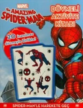 Marvel The Amazing Spider Man Dövmeli Aktivite Kitabı