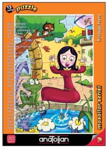 Masallar Serisi-Kurbağa Prens 15 Parça Puzzle