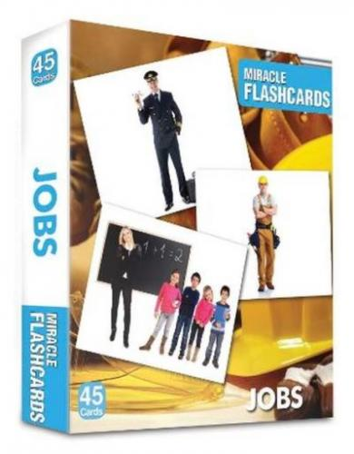 Miracle FlashCards Jobs 45 Cards