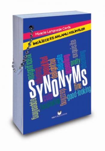 "Miracle Language Cards ""Synonyms"" (Eş Anlamlı Kelimeler)"