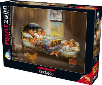 Anatolian Puzzle Mutluluğun Resmi / Home Sweet Home 3900 2000 Parça Ko