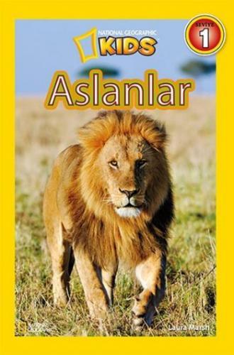 National Geographic Kids Aslanlar-Seviye 1