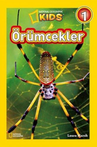 National Geographic Kids Örümcekler-Seviye 1