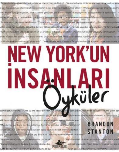 New York'un İnsanlari - Öyküler (Ciltli)