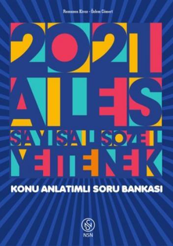 Nisan ALES Tek Kitap Sayısal Sözel Yetenek Konu Anlatımlı Soru Bankası 2021-YENİ