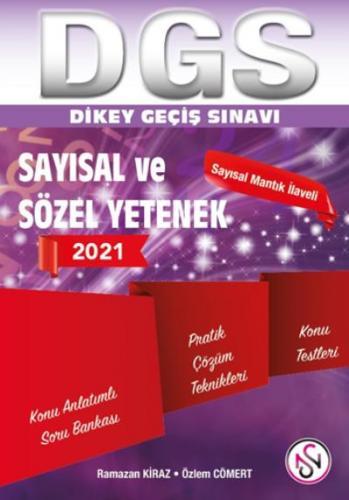 Nisan DGS Tek Kitap Sayısal Sözel Yetenek Konu Anlatımlı Soru Bankası 2021-YENİ
