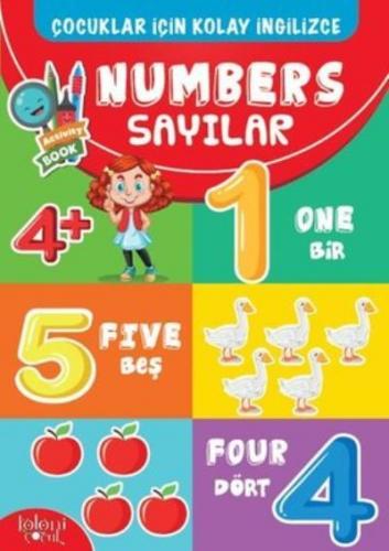 Numbers-Çocuklar İçin Kolay İngilizce Koloni Çocuk Kolektif