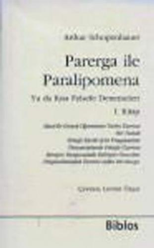 Parerga ile Paralipomena