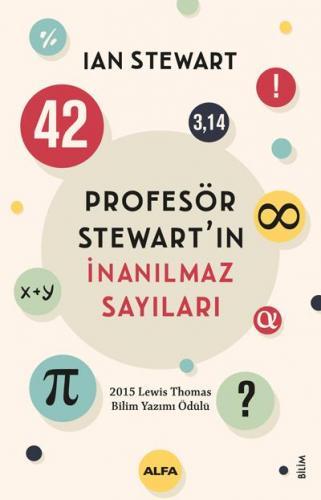 Profesör Stewartın İnanılmaz Sayıları Ian Stewart