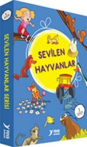 Sevilen Hayvanlar Serisi Düz Yazılı 10 Kitap 1.Sınıf