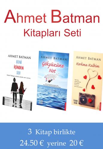 Ahmet Batman Kitapları Seti Ahmet Batman