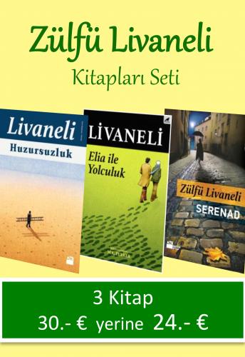 Zülfü Livaneli Kitapları Seti Zülfü Livaneli