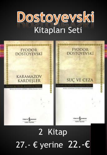 Dostoyevski 2 Kitap Seti