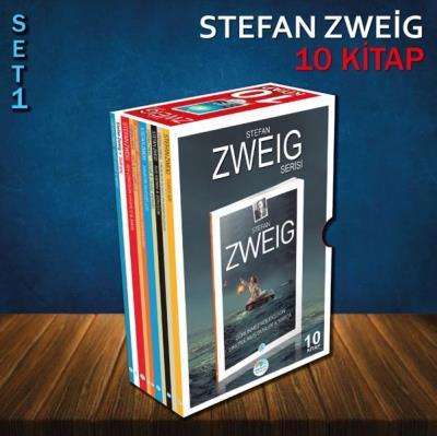 Stefan Zweig Seti 1-10 Kitap-Kutulu