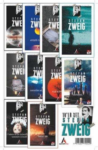 Stefan Zweig Seti 10 Kitap Stefan Zweig