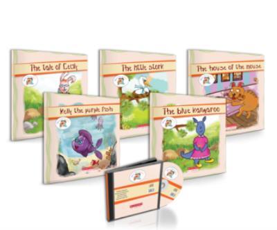 Story Time For Kids-5 Kitap Hikaye Seti