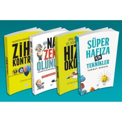 Süper Zihin Eğitim Seti 4 Kitap