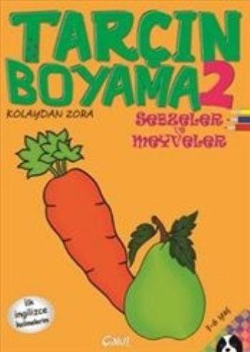 Tarçın Boyama 2-Sebzeler ve Meyveler