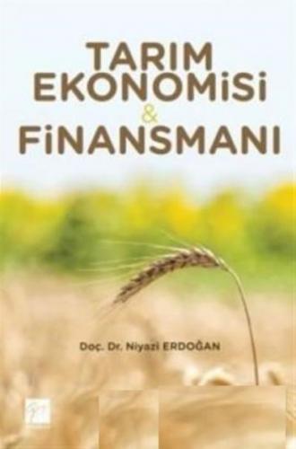 Tarım Ekonomisi-Finansmanı