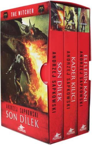 The Witcher Serisi Kutulu Özel Set 3 Kitap