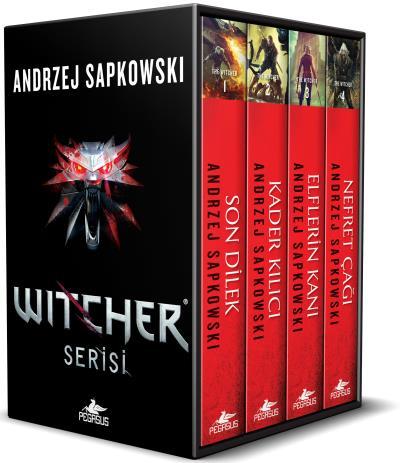 The Wıtcher Serisi-Kutulu Özel Set 4 Kitap Takım