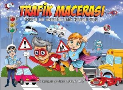 Trafik Macerası-Çocuklar İçin Hazırlanmış Trafik Kuralları Oyunu