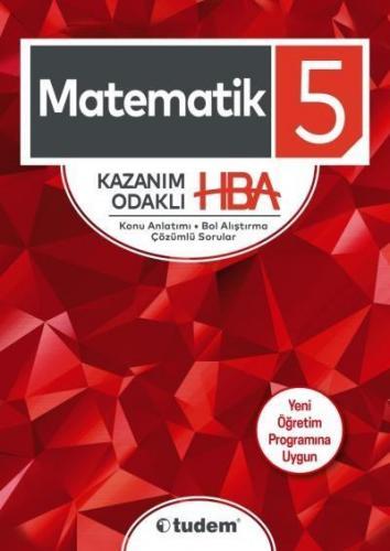 Tudem 5. Sınıf Matematik Kazanım Odaklı HBA-YENİ