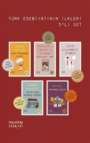 Türk Edebiyatının İlkleri 5 Kitap Set Hayy Kitap Kolektif