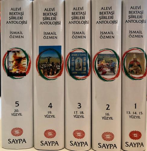 ALEVİ - BEKTAŞİ ŞİİRLERİ ANTOLOJİSİ 5.CİLT TAKIM