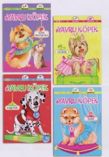 Yavru Köpek Seti 4 Kitap Koloni Çocuk Kolektif