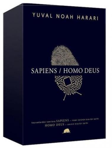Yuval Noah Harari Kutulu Set-Sapiens - Homo Deus
