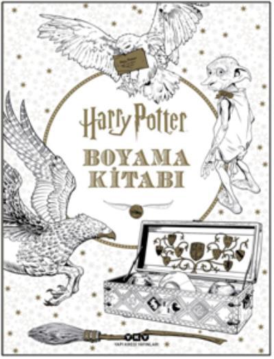 Harry Potter Boyama Kitabı Yapı Kredi Yayınları Kolektif