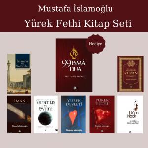 Mustafa İslamoğlu Yürek Fethi Kitap Seti ( 8 kitap )