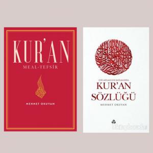 Mehmet Okuyan Kur'an Meal Tefsir & Kur'an Sözlüğü Kitap Seti