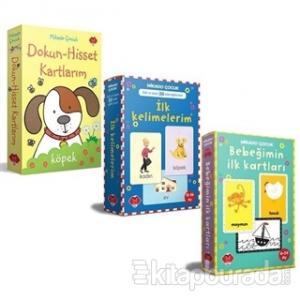 Bebeğimin Zeka Kartları Seti - 3 Kitap Takım