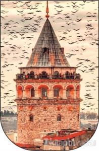 Galata Kulesi - Ayraç