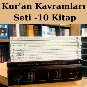 Kur'an Kavramları Seti 10 Kitap Özel Fiyat