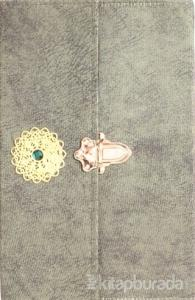 Kur'an-ı Kerim Hatim Çantalı Nubuk Kadife Orta Boy (Yeşil Kapak) (Ciltli)